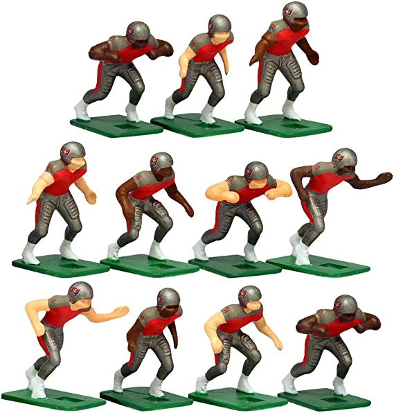 Tampa Bay Buccaneers Home Jersey NFL Action Figure Set