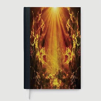 Amazon com : Hardcover Executive Notebook, Modern, Notepad