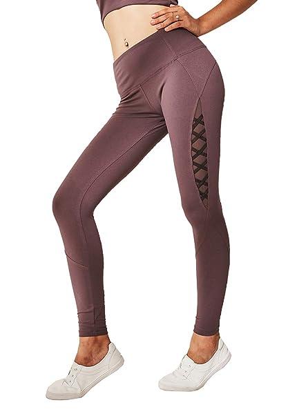 D C.Supernice - Mallas de Yoga para Mujer, con Cinta de ...