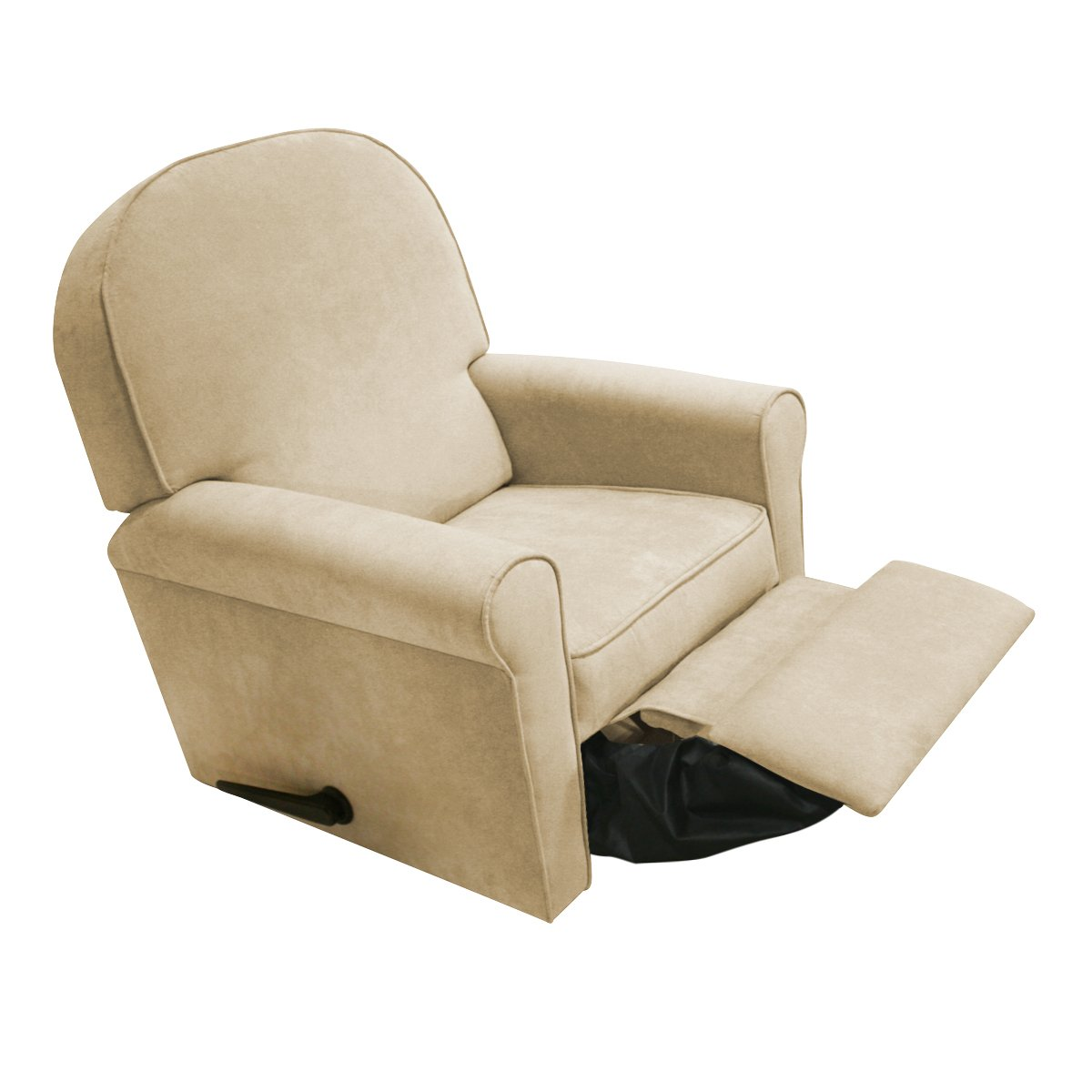 Amazon.com : The Rockabye Glider Jayden Recliner, Micro Beige : Nursery  Gliders : Baby