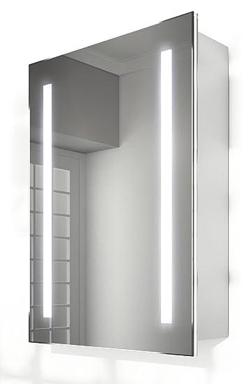 Dallas Slider Badezimmer Spiegelschrank Mit Beleuchtung Steckdose