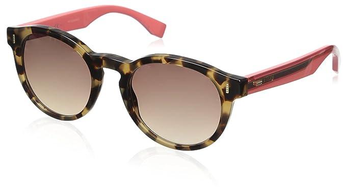 Fendi Mujer FF 0085/S D8 HK3 Gafas de sol, Rojo (Hvnhny ...