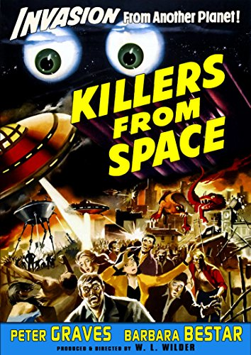Killers From Space (1954) (Restored Edition) (Killer Klowns From Outer Space Blu Ray)