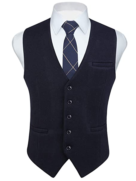 Il miglior negozio online Gilet scozzese con bottoni blu