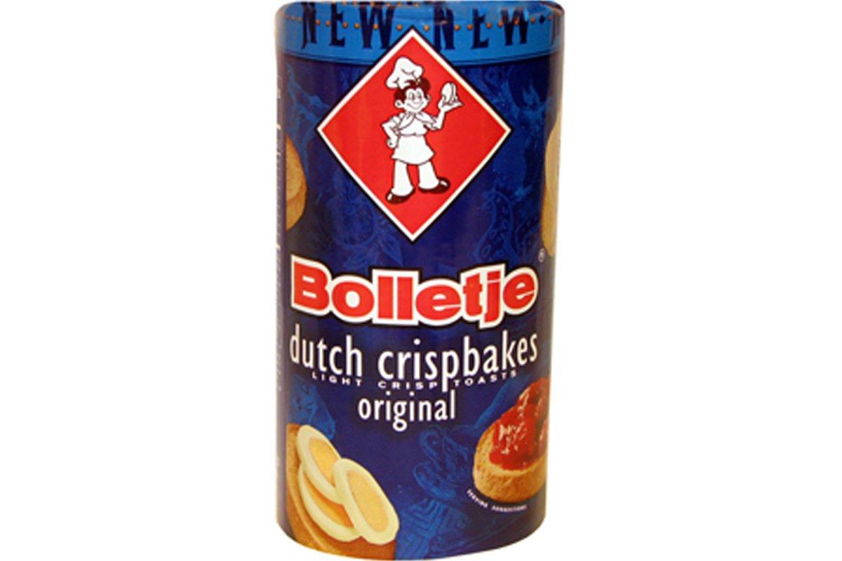 Dutch Cripbake Original (Light Crisp Toast) 3.5oz (Pack of 6)