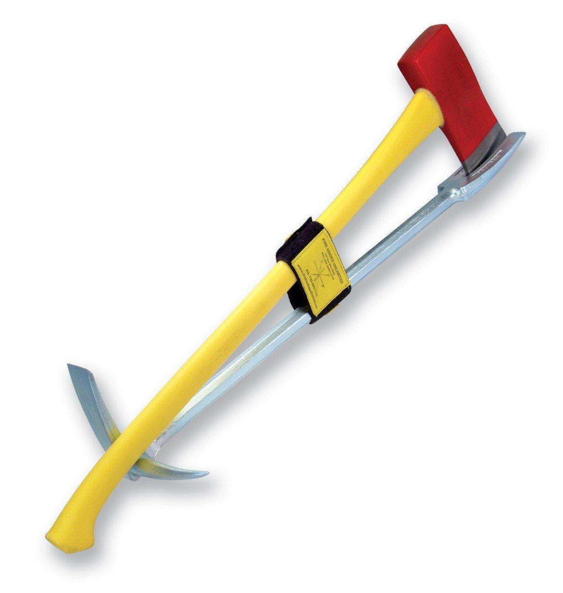 Leatherhead Tools KLB302 Halligan and Axe Yellow Fiberglass 36in.