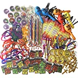 260-Piece Kids Christian Religious Party Favor Toy Supplies For Sunday School Gifts With Bulk Stickers, Bracelets, And Bookmarks For Boy And Girl Church Activities