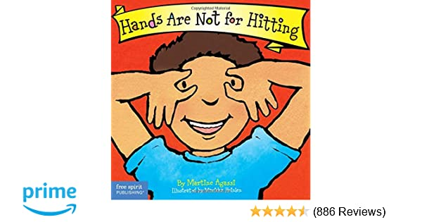 Hands are not for hitting board book best behavior series hands are not for hitting board book best behavior series martine agassi phd marieka heinlen 9781575422008 amazon books fandeluxe Gallery
