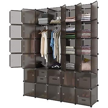 Amazon.com: LANGRIA 20 Cubby Estantería Sistema Cubo ...
