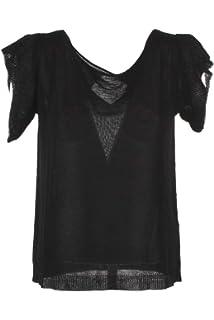 Donna T Xs Shirt Nero Efeso Primavera Estate Kocca 2019 vmN0wn8O