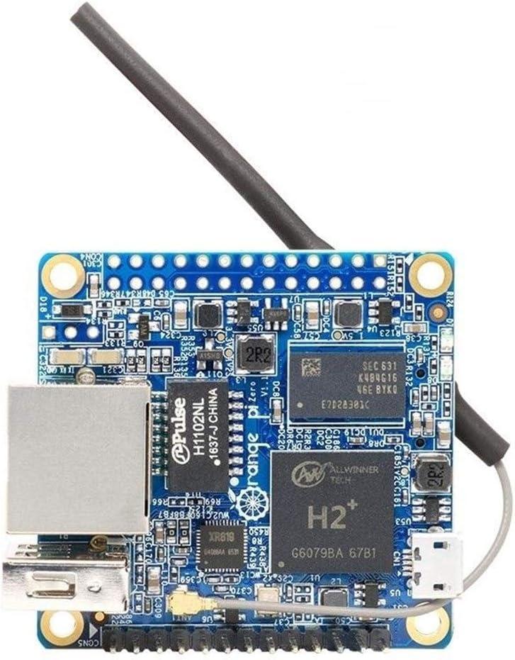 ExpansiOnboard Module Ctghgyiki 2-in-1 Orange Pi Zero H2 Quad Core Open Source 256MB Development Board