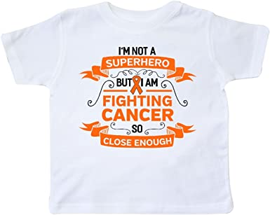 Kcloer24 Girls Boys Kidney Cancer Awareness Personality T-Shirt Short Sleeve Tee for 2-6 Years Old