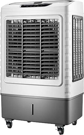 Ventilador Industrial de Aire Acondicionado Refrigerador Grande con Control Remoto Evaporativo Ventilador 27 l Capacidad Grande Tanque de Agua Potencia Alta 200w: Amazon.es: Hogar
