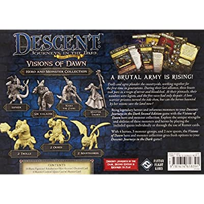 Descent Second Edition: Visions of Dawn: Fantasy Flight Games: Toys & Games