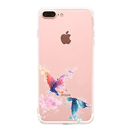 Amazon.com: iPhone 8 plus funda, carcasa iPhone 7 Plus Funda ...