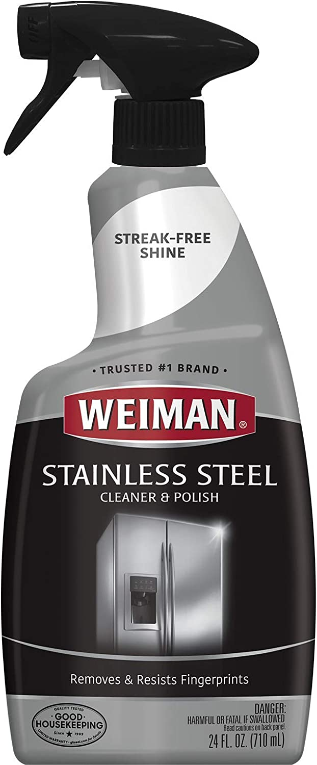 Weiman Stainless Steel Cleaner & Polish 22 fl oz - 6 pack