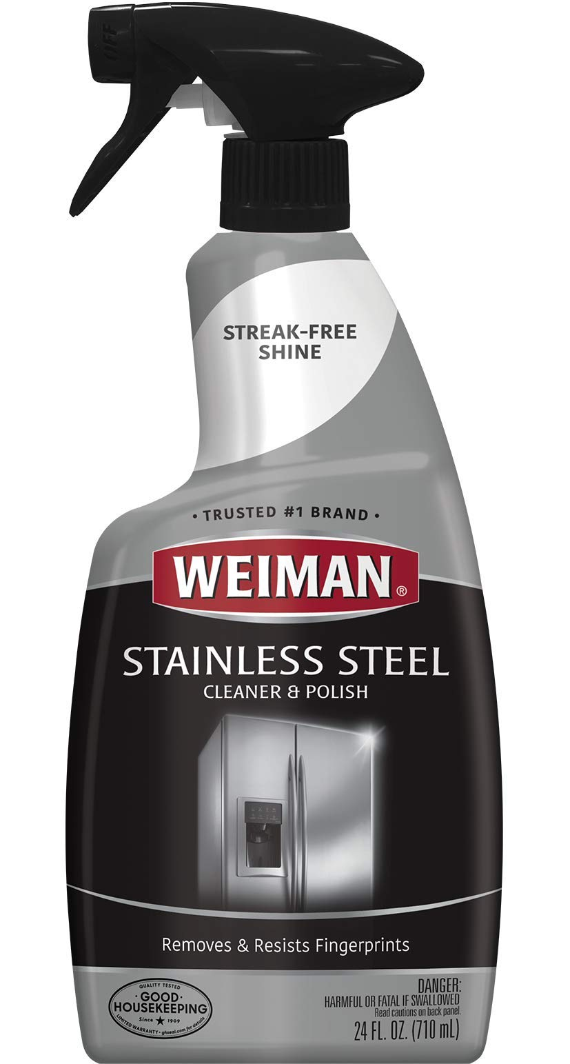 Weiman Stainless Steel Cleaner & Polish 22 fl oz - 6 pack by Weiman