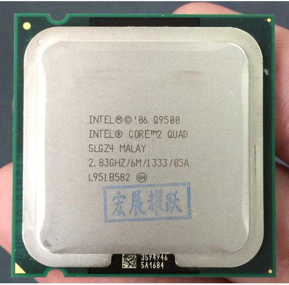 PC Computer Intel Core2 Quad Processor Q9500 LGA775 Desktop CPU 6M Cache, 2.83 GHz, 1333 MHz FSB