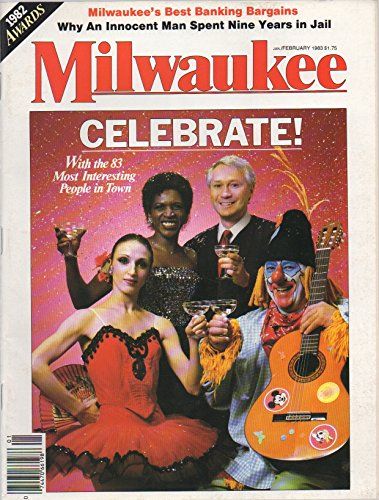 Magazine Jukebox (Milwaukee Magazine, vol. 8, no. 1 (January/February 1983) (83 Most Interesting People in Town; Joys of Jukeboxes; Woody Allen Lookalikes; Francis Hemauer's Ordeal))