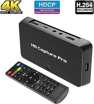 Tarjeta de captura de juegos con grabador de vídeo HDMI con micrófono – HD Gaming Cloner Grabación