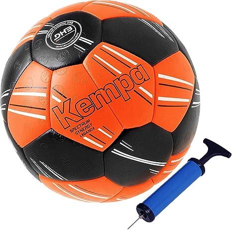 Kempa Balonmano Top Parte y Pelota DHB IHF Logo Rojo/Naranja Super griffig, 0 ohne Ballpumpe: Amazon.es: Deportes y aire libre