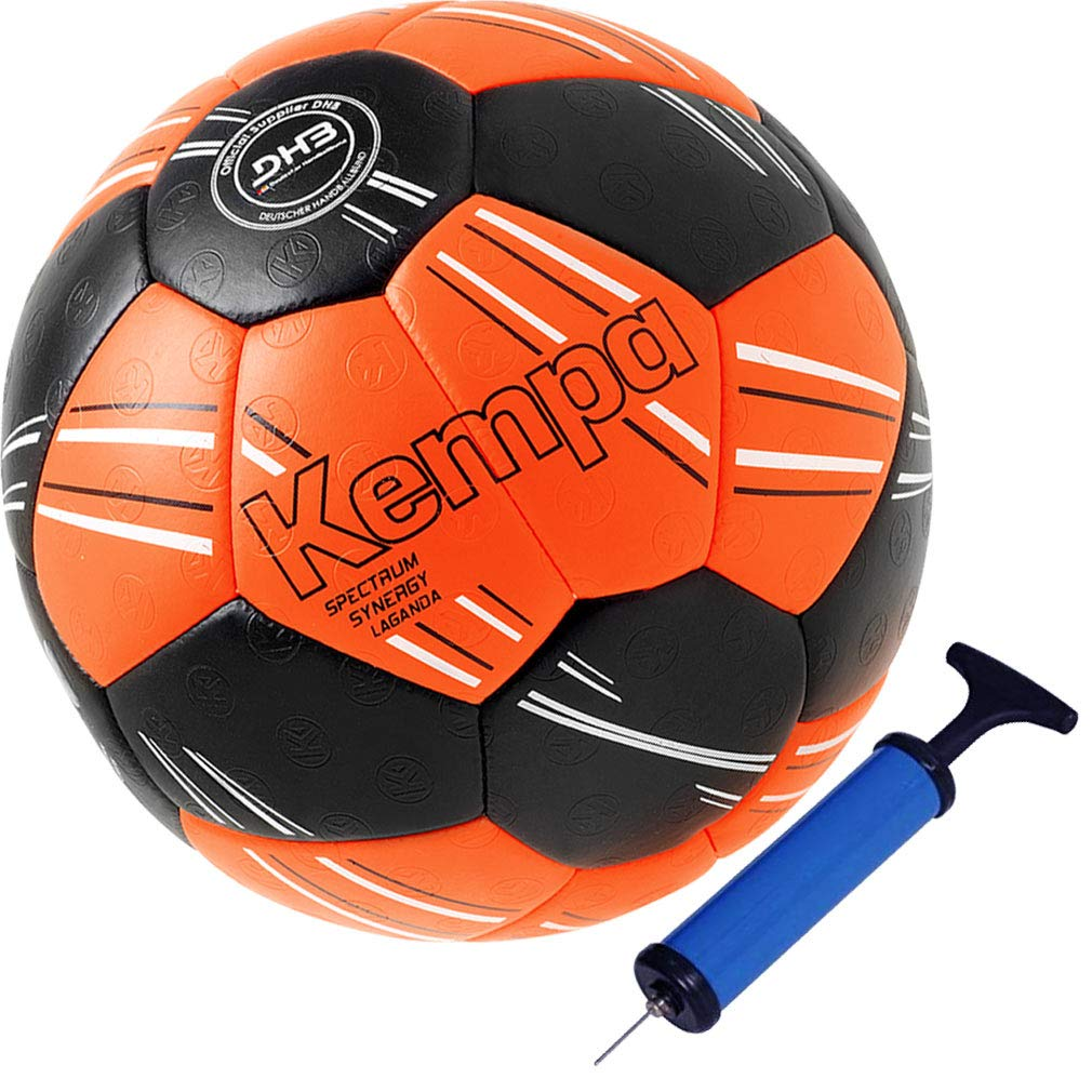 Kempa balonmano Top Parte y pelota DHB IHF Logo Rojo/Naranja Super ...