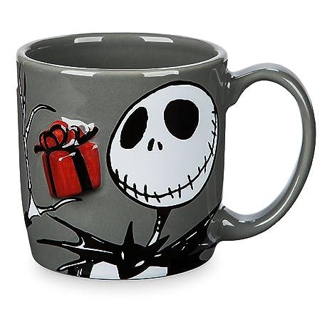 8906f061ea6 Amazon.com | Disney Jack Skellington Dimensional Mug: Coffee Cups & Mugs