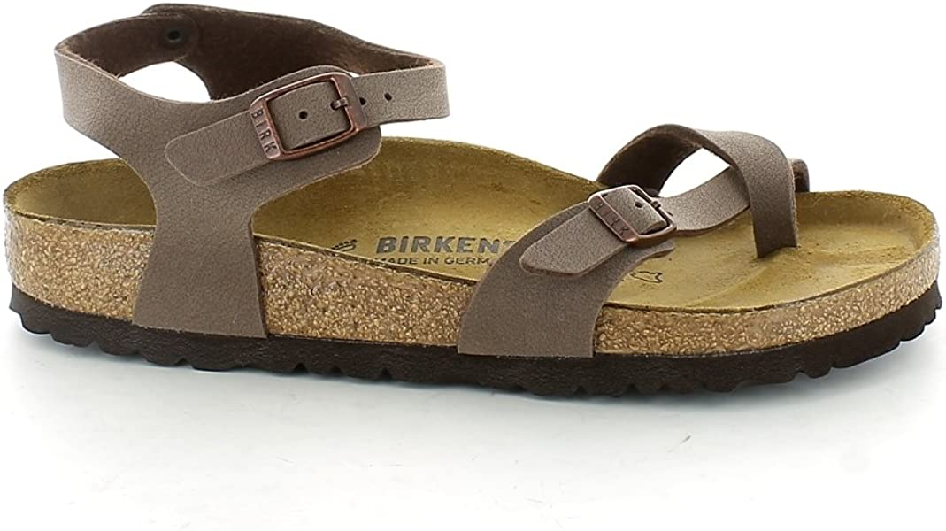 25b697f5204db8 Amazon.com  Birkenstock Women Sandals Taormina 0310121 Mocca 35 EUR ...
