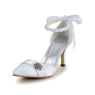 Haut Bout De Chaussures Pour Mariée Jia Talon Pointu Femme A3122 F14qRR