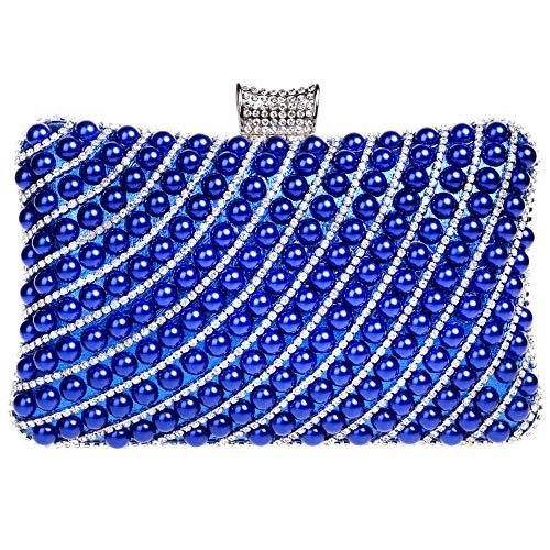 embrague Mujer azul Zanpa Moda Bolsos 2 BYBfqA