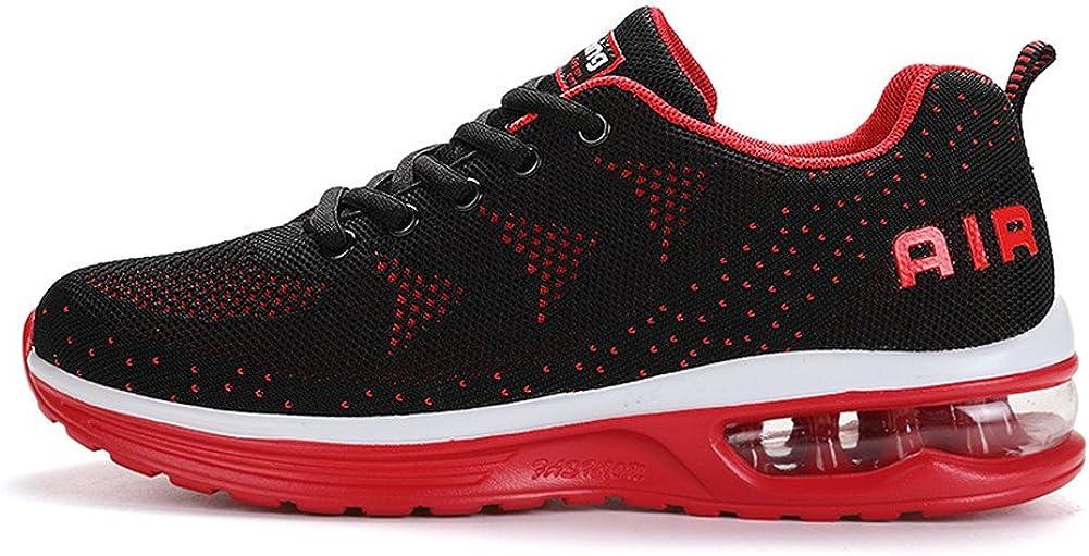 Fexkean Hombre Mujer Zapatillas de Deporte Zapatos Deportivos Aire Libre y Deportes Zapatillas de Running Gimnasia