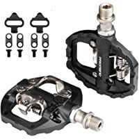Multipurpose Dual Platform SPD Pedal, Compatible with Shimano SPD Mountain Bike for Indoor Exercise Bike, spin Bike and…