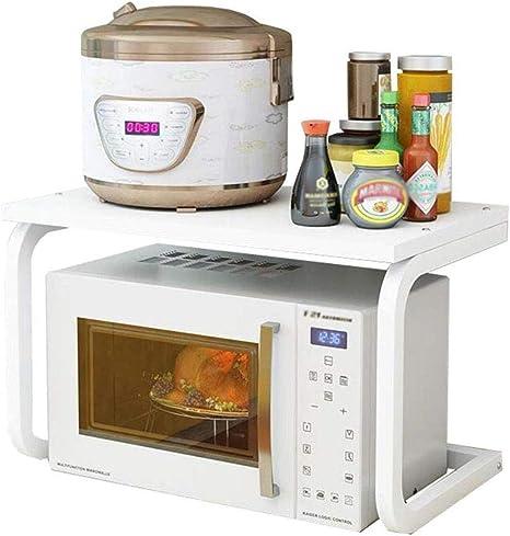 JSY - Estante de cocina para microondas, utensilios de cocina para el hogar, suelo y horno, varias capas de almacenamiento para condimentos: Amazon.es: Hogar
