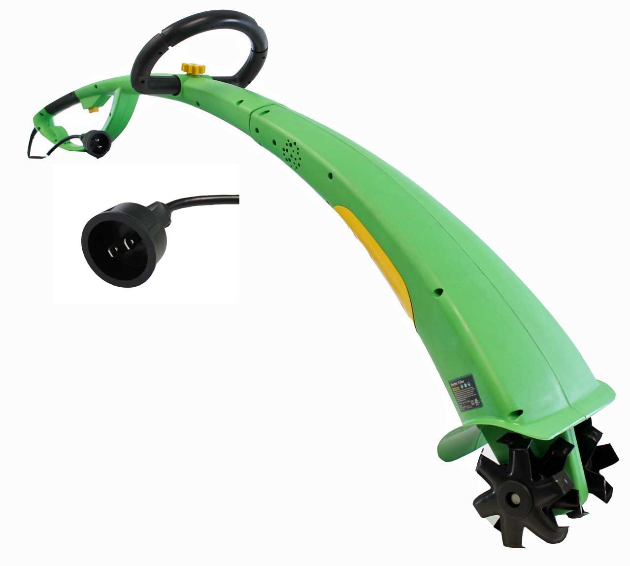 New Power Glide 1/3 HP 6'' Cutting Width Corded Electric Garden Tiller/Cultivator by Powerglide