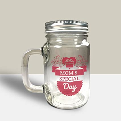 Buy Huppme Mom Special Day Mason Jar Home Utility Gifts Useful Gifts Gift For Mother Mothers Day Gifts Gifts For Mom Online At Low Prices In India Amazon In