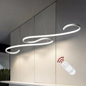 LED Pendelleuchte,Modern Kronleuchter Dimmbar pendelleuchte esstisch ...