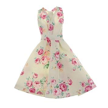 7bdf4ffbec3c6 Dovewill 1 6スケール 12インチバービー人形用 ドレス ガウンドレス スカート パーティードレス