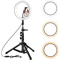 Rovtop 10 inch Ring Light w/Stand Tripod Deals