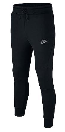 Nike Sportswear Tech Fleece Big Kids' Pants Black/Cool Grey