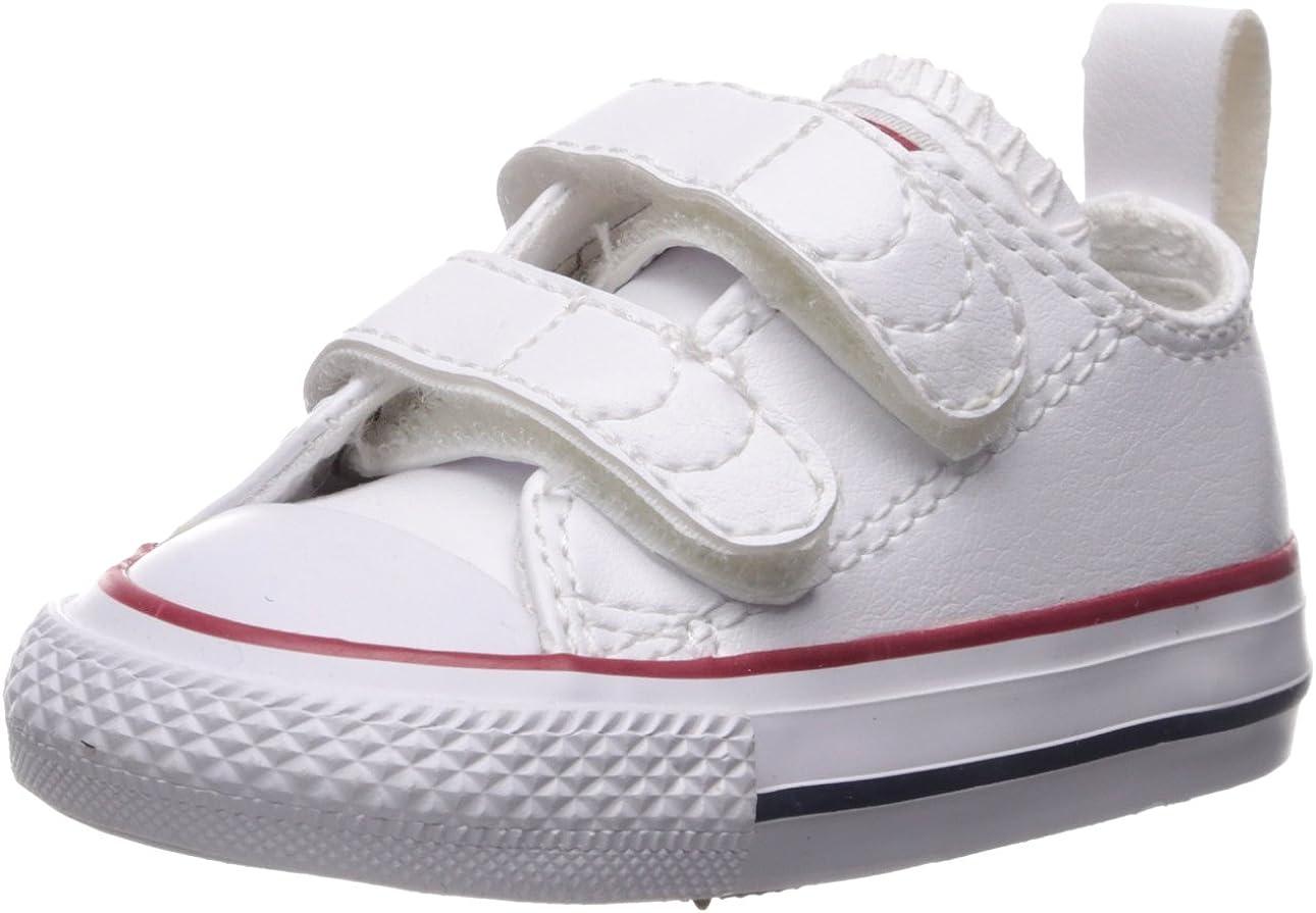 white velcro converse infant
