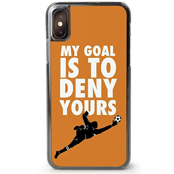 huge selection of 16eca 4d452 Soccer iPhone X Case | My Goal is to Deny Yours Goalie