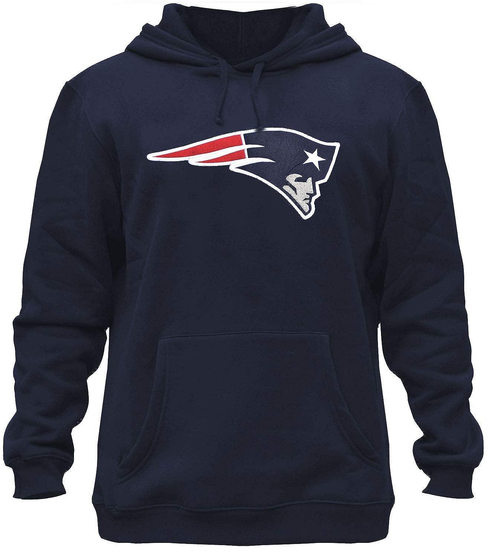 the best attitude 39b4a 05e4b Mens Patriots Embroidery Fleece Sweatshirt Hooded Jersey Hoodie