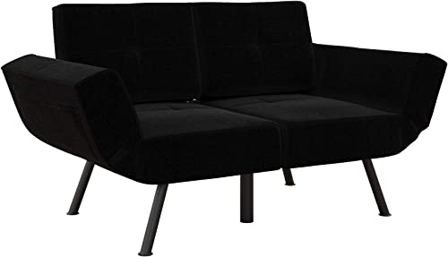 REALROOMS Euro Loveseat Futon - the best living room sofa for the money