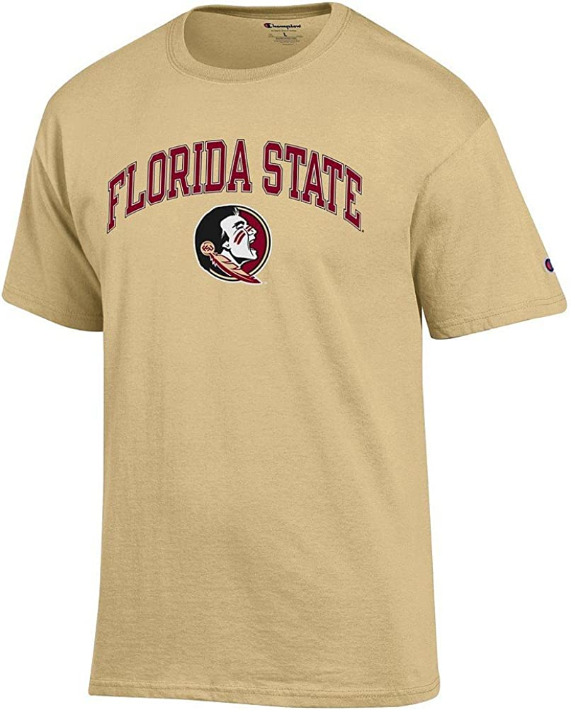 Elite Fan Shop NCAA Mens Alt Color Arch Short Sleeve T-Shirt