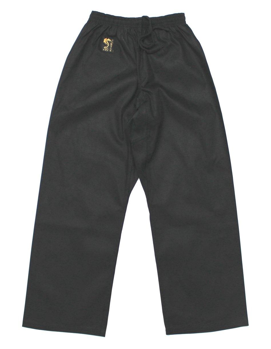 S.B.J - Sportland Baumwollhose/Kampfsporthose/Judohose/Karatehose schwarz
