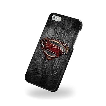 Funda Carcasa Dura Rígida Superman para Iphone 5 y 5s