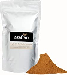 Azafran BIO Ceylon Zimt gemahlen Zimtpulver mit geringem Cumarin 250g