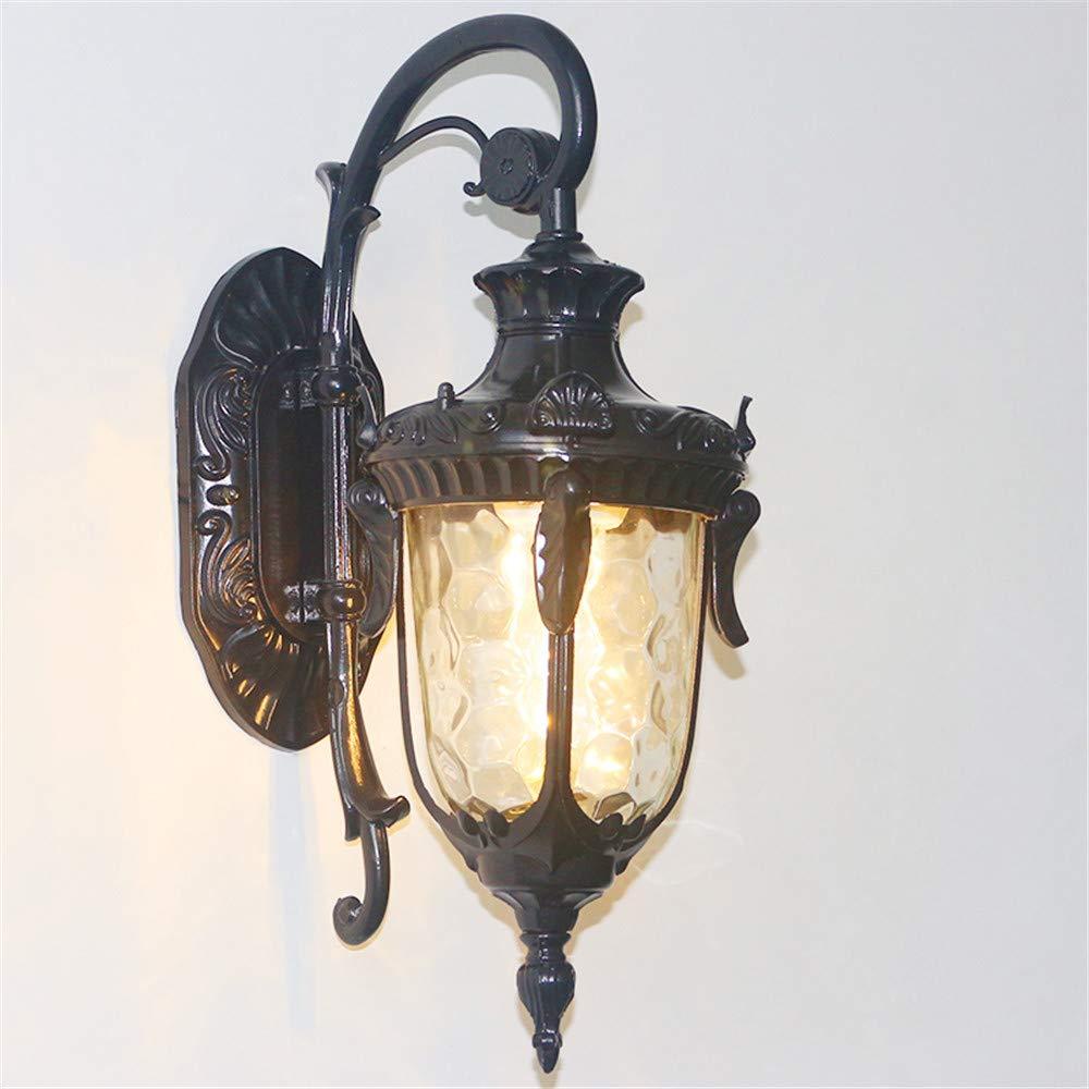 Ehime Außenwandleuchten Anti-Rost-und Anti-Korrosions-Retro-Wandleuchte LED im freien wasserdichte Gang Lampe Korridor Straßenlampe im Freien Wand Lampe Beleuchtung nach Hause