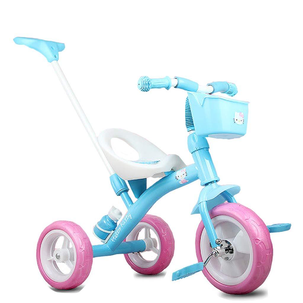 buscando agente de ventas Minmin-chezi Cochecito Infantil de de de Triciclo 2-6 años Cochecito de Bicicleta para bebé Carrito de Bicicleta (Color : Azul)  excelentes precios