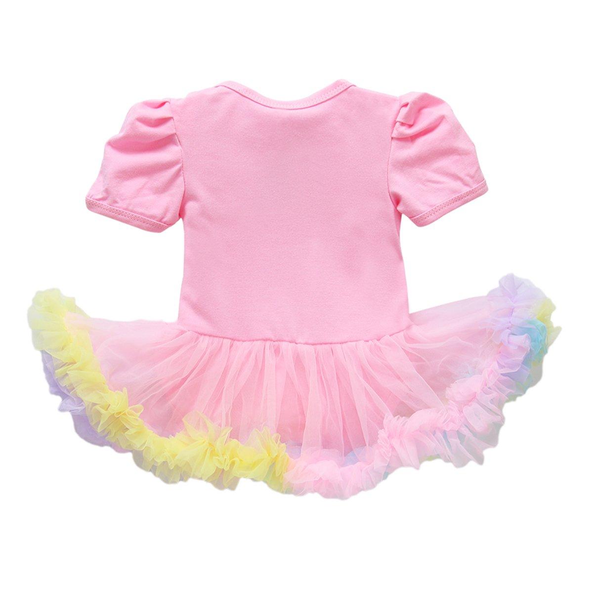 Baby Mädchen Erstes Ostern Hase Strampler Kleid Stirnband Schuhe Party Outfits